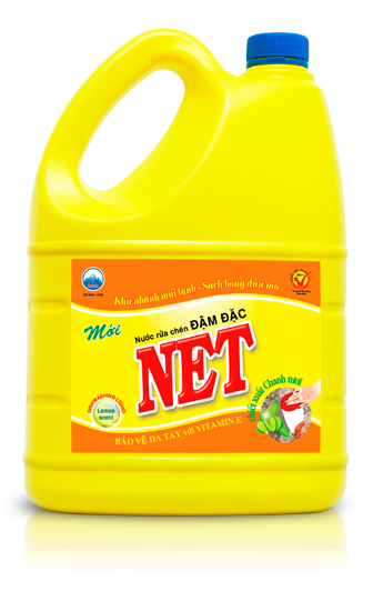 NET LEMON – ANTIBACTERIAL DISHWASHING LIQUID
