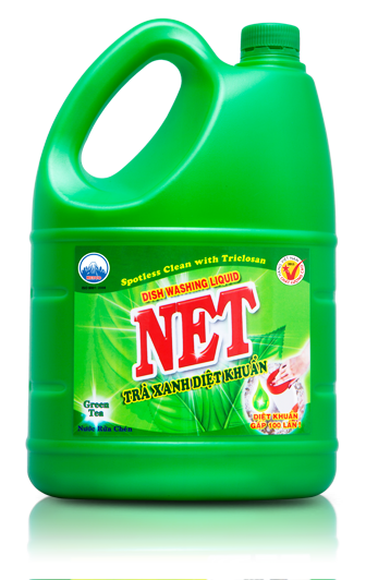 NET ANTI-BACTERIA GREEN TEA DISHWASHING LIQUID