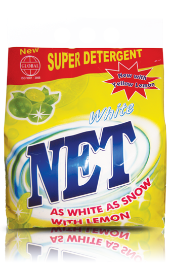 WHITE NET LEMON – AS WHITE AS SNOW WITH LEMON AROMA