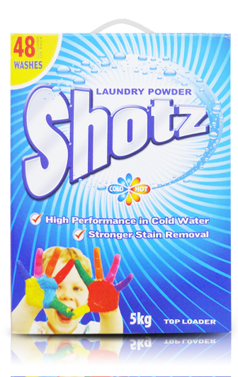 SHOTZ LAUNDRY DETERGENT POWDER