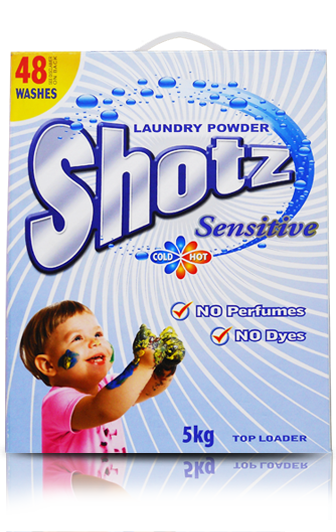 SHOTZ SENSITIVE DETERGENT POWDER
